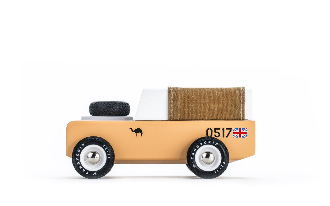 Candylab Toys Drifter Sahara - Modern Vintage Adventure Vehicle - Wood Wood Toys Canada's Favourite Montessori Toy Store