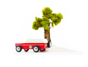 Candylab Toys Master Chief - Modern Vintage Fire Truck - Wood Wood Toys Canada's Favourite Montessori Toy Store
