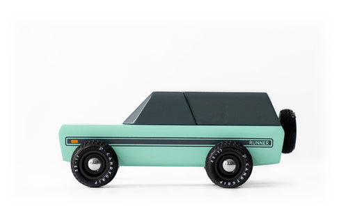 Candylab Toys Runner - Modern Vintage Toy Truck - Wood Wood Toys Canada's Favourite Montessori Toy Store