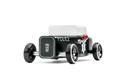 Candylab Toys Sheriff Outlaw - Modern Vintage Hot Rod - Wood Wood Toys Canada's Favourite Montessori Toy Store