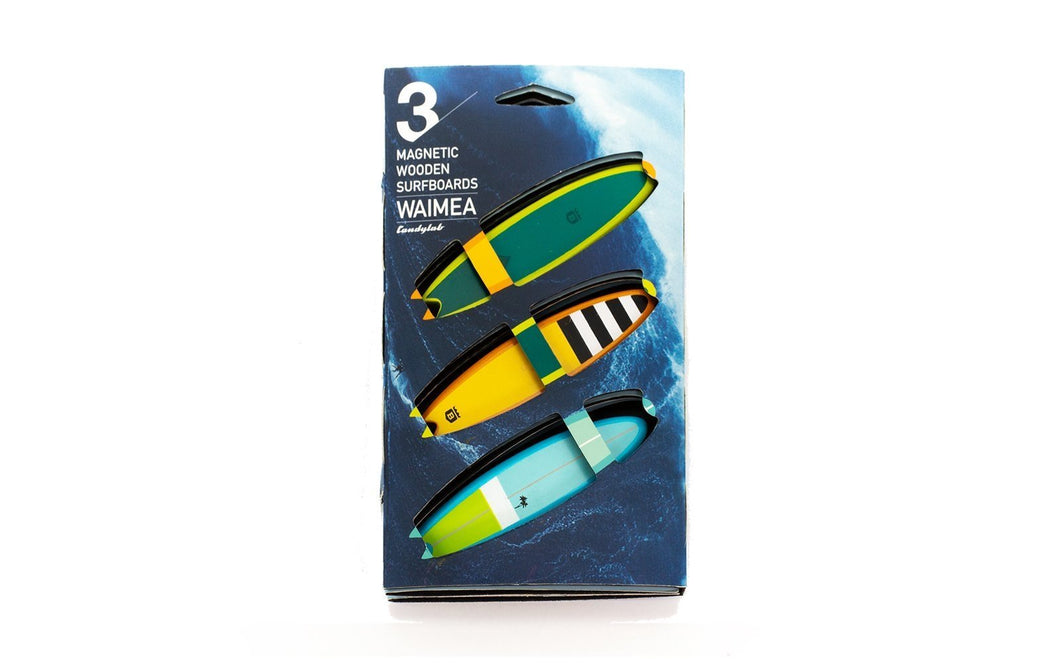 Candylab Waimea Surfboard Pack - Wood Wood Toys Canada's Favourite Montessori Toy Store