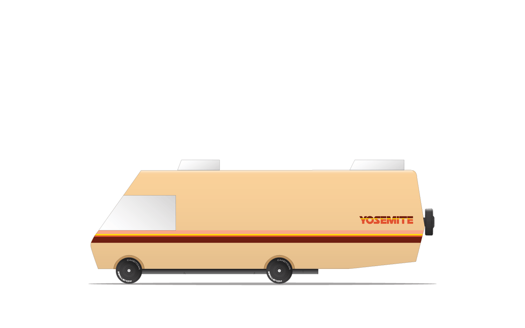 Candylab Yosemite RV Modern Vintage Travel Camper - Wood Wood Toys Canada's Favourite Montessori Toy Store