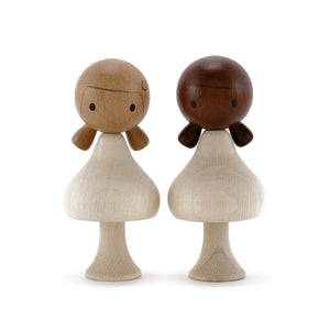 CLiCQUES Magnetic Figurines - DIY Diverse (Girls) - Wood Wood Toys Canada's Favourite Montessori Toy Store