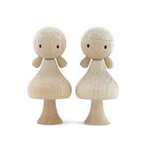CLiCQUES Magnetic Figurines - DIY (Girls) - Wood Wood Toys Canada's Favourite Montessori Toy Store