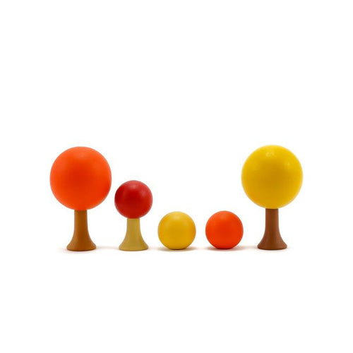 CLiCQUES Magnetic Garden - Autumn (mini) - Wood Wood Toys Canada's Favourite Montessori Toy Store