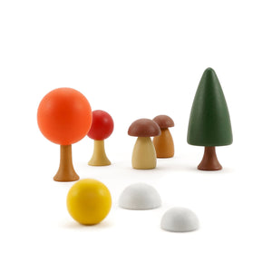 CLiCQUES Magnetic Garden - Autumn - Wood Wood Toys Canada's Favourite Montessori Toy Store