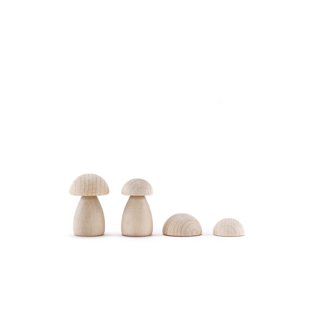 CLiCQUES Magnetic Garden - DIY Mushrooms & Stones - Wood Wood Toys Canada's Favourite Montessori Toy Store
