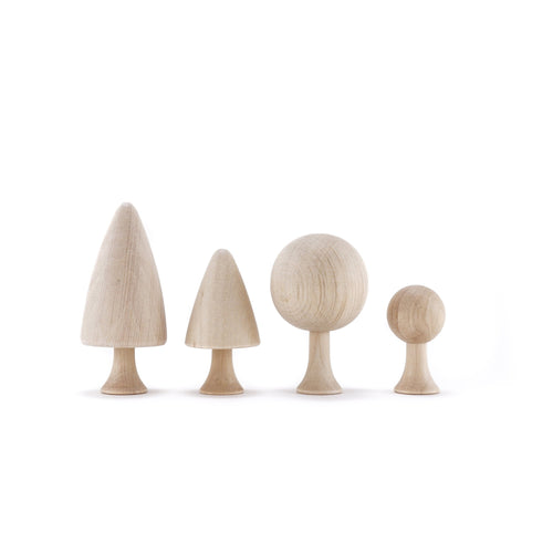 CLiCQUES Magnetic Garden - DIY Trees - Wood Wood Toys Canada's Favourite Montessori Toy Store