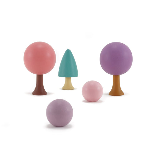 CLiCQUES Magnetic Garden - Spring - Wood Wood Toys Canada's Favourite Montessori Toy Store