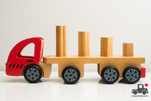 Load image into Gallery viewer, Discoveroo Sort n' Stack Truck - Wood Wood Toys Canada's Favourite Montessori Toy Store