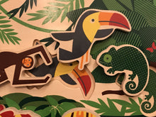 Load image into Gallery viewer, DwellStudio Toucan Puzzle - Wood Wood Toys Canada's Favourite Montessori Toy Store