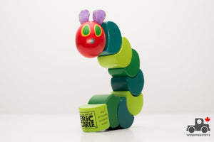 Eric Carle's The Very Hungry Caterpillar Wood Grasp and Twist Toy - Wood Wood Toys Canada's Favourite Montessori Toy Store
