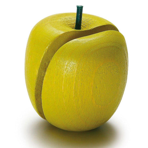 Erzi Apple to Cut - Play Food Made in Germany - Wood Wood Toys Canada's Favourite Montessori Toy Store