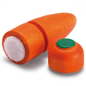 Erzi Carrot to Cut - Play Food Made in Germany - Wood Wood Toys Canada's Favourite Montessori Toy Store