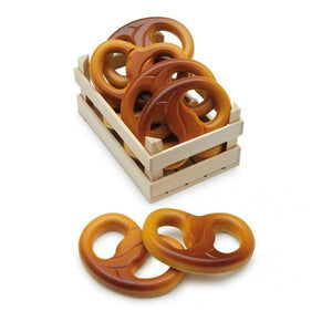Erzi Pretzel - Play Food Made in Germany - Wood Wood Toys Canada's Favourite Montessori Toy Store