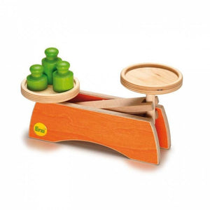 Erzi Scale - Play Food Made in Germany - Wood Wood Toys Canada's Favourite Montessori Toy Store