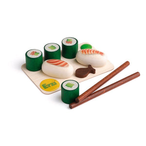Erzi Sushi Set - Play Food Made in Germany - Wood Wood Toys Canada's Favourite Montessori Toy Store