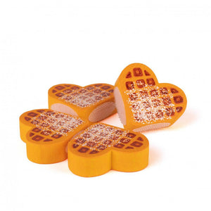 Erzi Waffle to Cut - Play Food Made in Germany - Wood Wood Toys Canada's Favourite Montessori Toy Store