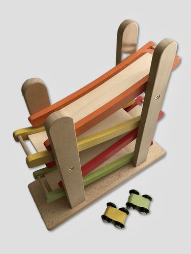 Everearth Ramp Racer (Junior) - Wood Wood Toys Canada's Favourite Montessori Toy Store