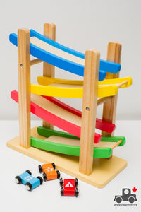 EvereEarth Junior Ramp Racer - Wood Wood Toys Canada's Favourite Montessori Toy Store