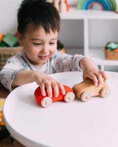Exclusive Wooden Toy Car by Avdar - Wood Wood Toys Canada's Favourite Montessori Toy Store