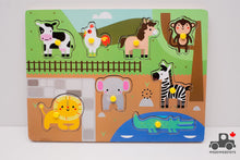 Load image into Gallery viewer, FAO Schwarz Animal Sound Puzzle - Wood Wood Toys Canada's Favourite Montessori Toy Store