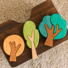 Load image into Gallery viewer, First Forest Wooden Tree Puzzle Set by Avdar Toys - Wood Wood Toys Canada's Favourite Montessori Toy Store