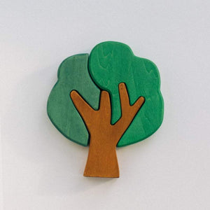 First Forest Wooden Tree Puzzle Set by Avdar Toys - Wood Wood Toys Canada's Favourite Montessori Toy Store