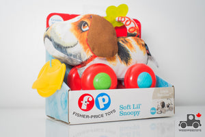 Fisher Price Soft Lil Snoopy - Wood Wood Toys Canada's Favourite Montessori Toy Store