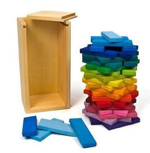 "Load image into Gallery viewer, Gluckskafer - Building Slats ""Tower"" (60 pieces) - Wood Wood Toys Canada's Favourite Montessori Toy Store"