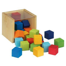 Load image into Gallery viewer, Gluckskafer - Coloured Wooden Cube Set - Wood Wood Toys Canada's Favourite Montessori Toy Store