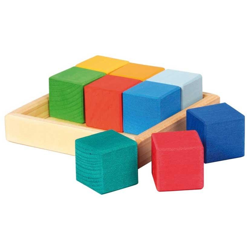 Gluckskafer - Construction Kit Cube Set - Wood Wood Toys Canada's Favourite Montessori Toy Store