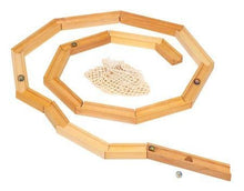 Load image into Gallery viewer, Gluckskafer - Wooden Marble Run Track (23 Pieces) - Wood Wood Toys Canada's Favourite Montessori Toy Store