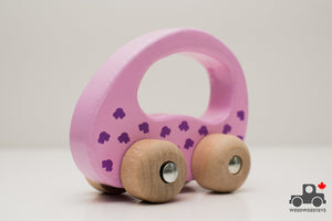 Goki Grasping Car Toy - Wood Wood Toys Canada's Favourite Montessori Toy Store