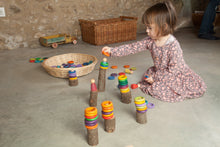 Load image into Gallery viewer, Grapat Wood Coloured Nins - Carla - Wood Wood Toys Canada's Favourite Montessori Toy Store