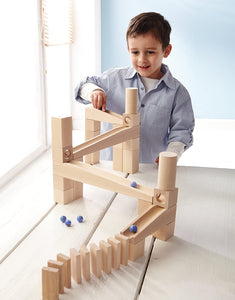 HABA Ball Track (Marble Run) First Playing Starter Set - Wood Wood Toys Canada's Favourite Montessori Toy Store