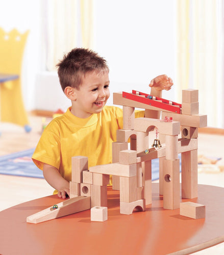 HABA Ball Track (Marble Run) Large Basic Set - Wood Wood Toys Canada's Favourite Montessori Toy Store