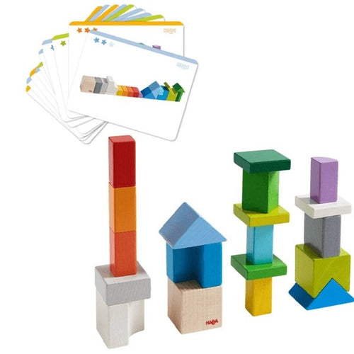 HABA Chromatix Building Blocks - Wood Wood Toys Canada's Favourite Montessori Toy Store