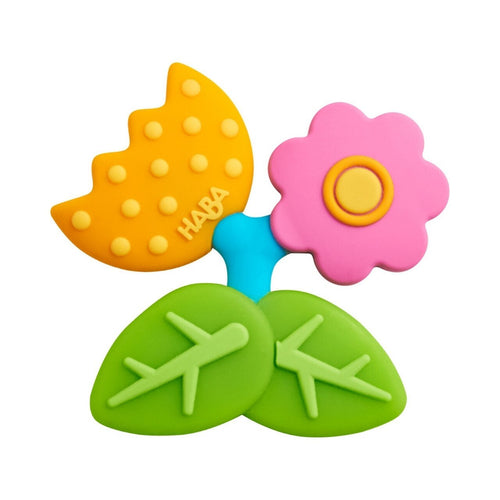 HABA Clutching Toy Petal Silicone Teether - Wood Wood Toys Canada's Favourite Montessori Toy Store