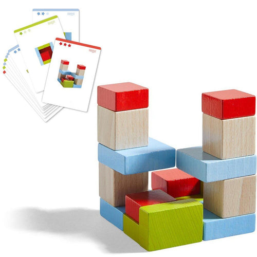 HABA Four by Four Building Blocks - Wood Wood Toys Canada's Favourite Montessori Toy Store