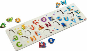 HABA My First ABC Clutching Puzzle - Wood Wood Toys Canada's Favourite Montessori Toy Store