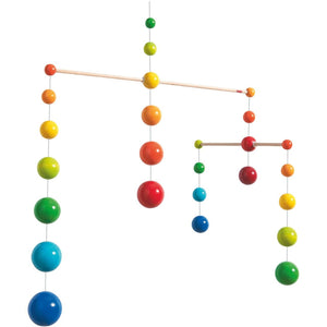 HABA Rainbow Ball Mobile - Wood Wood Toys Canada's Favourite Montessori Toy Store