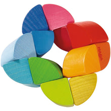 Load image into Gallery viewer, HABA Rainbow Ring Clutching Toy - Wood Wood Toys Canada's Favourite Montessori Toy Store