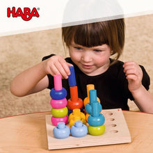 Load image into Gallery viewer, HABA Rainbow Whirls Pegging Game - Wood Wood Toys Canada's Favourite Montessori Toy Store