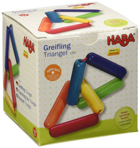 HABA Triangle Clutching Toy - Wood Wood Toys Canada's Favourite Montessori Toy Store