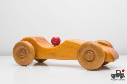 Handmade Wooden Car - Made in Canada - Wood Wood Toys Canada's Favourite Montessori Toy Store