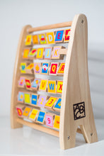 Load image into Gallery viewer, Hape Alphabet Abacus Wooden Counting Toy - Wood Wood Toys Canada's Favourite Montessori Toy Store