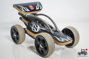 Hape Bamboo Cars (various styles) - Wood Wood Toys Canada's Favourite Montessori Toy Store