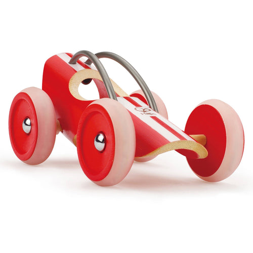 Hape E-Racer Monza Bamboo Speedster - Wood Wood Toys Canada's Favourite Montessori Toy Store