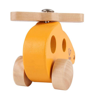 Hape Little Copter - Wood Wood Toys Canada's Favourite Montessori Toy Store